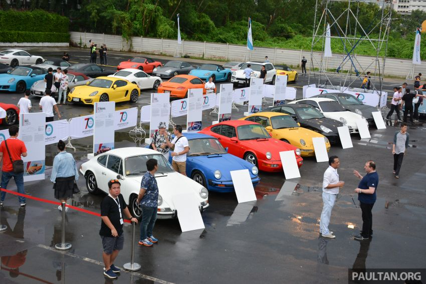 Porsche Sportscar Together Day Bangkok 2018 – celebrating 70 years of turning dreams into reality Image #843316