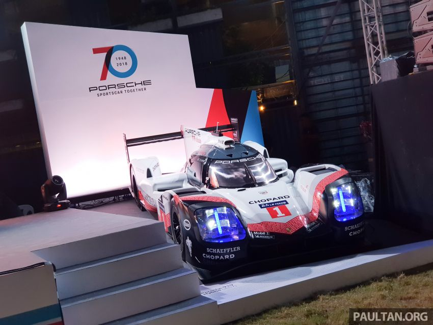 Porsche Sportscar Together Day Bangkok 2018 – celebrating 70 years of turning dreams into reality Image #843356