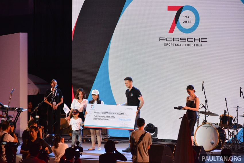 Porsche Sportscar Together Day Bangkok 2018 – celebrating 70 years of turning dreams into reality Image #843353