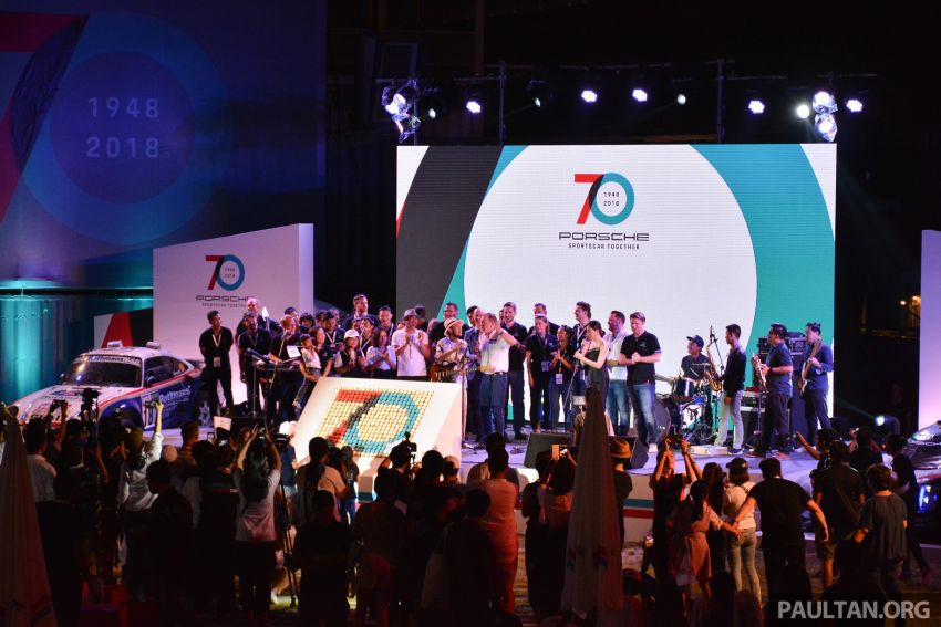 Porsche Sportscar Together Day Bangkok 2018 – celebrating 70 years of turning dreams into reality Image #843354