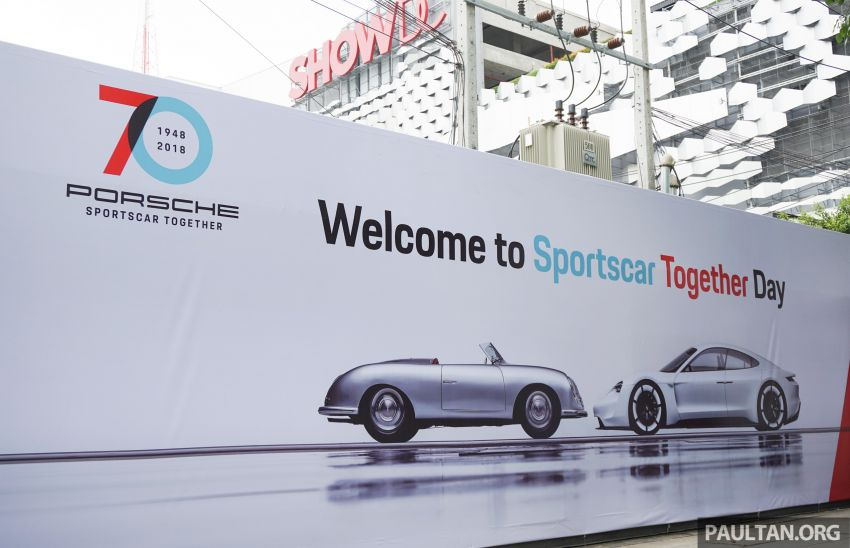 Porsche Sportscar Together Day Bangkok 2018 – celebrating 70 years of turning dreams into reality Image #843182