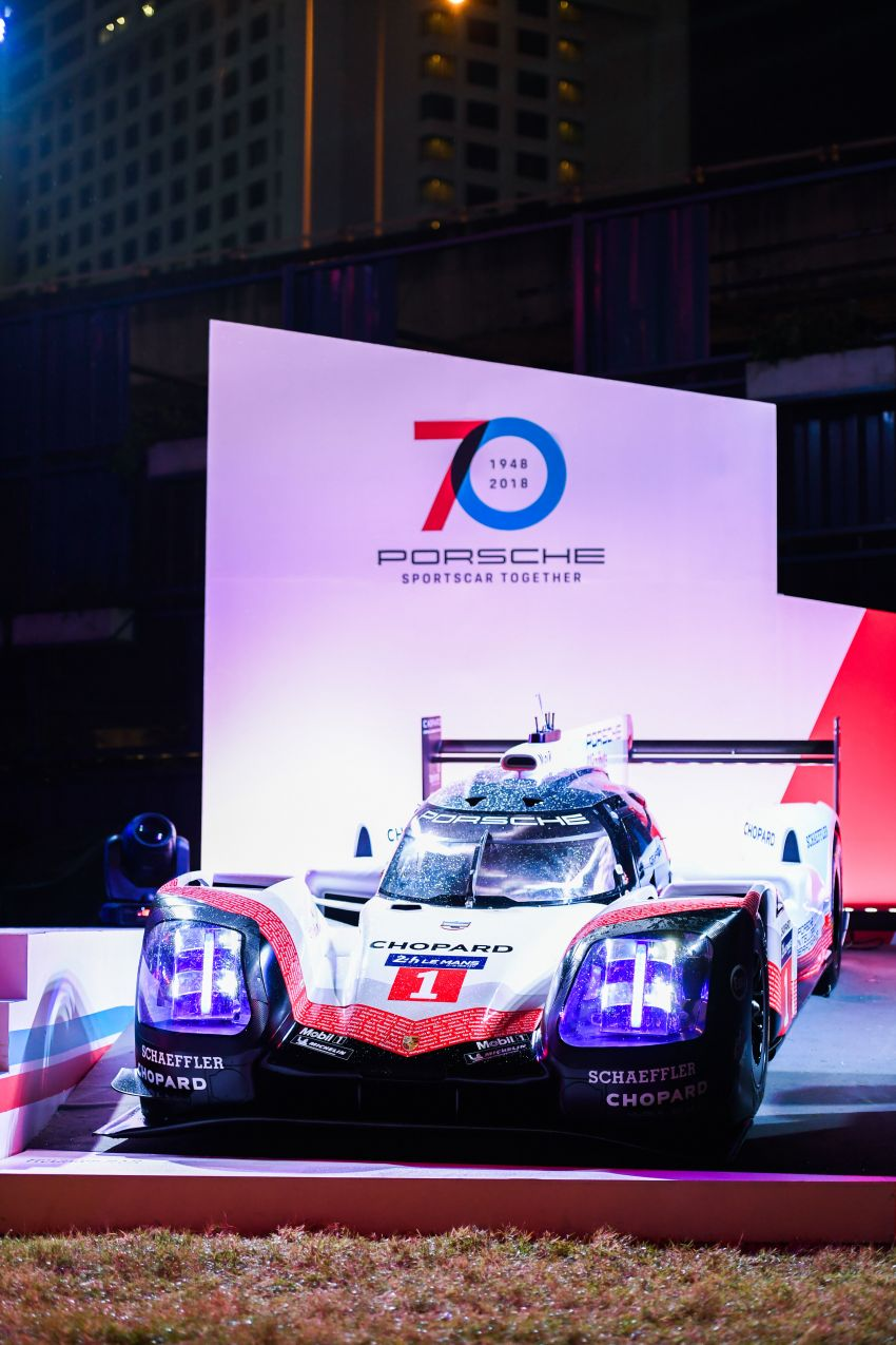 Porsche Sportscar Together Day Bangkok 2018 – celebrating 70 years of turning dreams into reality Image #843129
