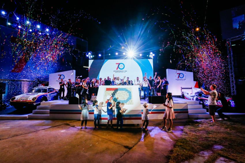 Porsche Sportscar Together Day Bangkok 2018 – celebrating 70 years of turning dreams into reality Image #843133