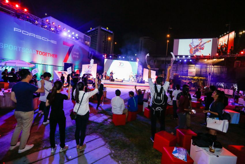 Porsche Sportscar Together Day Bangkok 2018 – celebrating 70 years of turning dreams into reality Image #843135