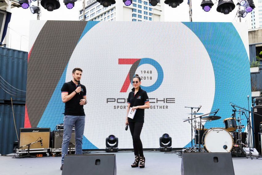 Porsche Sportscar Together Day Bangkok 2018 – celebrating 70 years of turning dreams into reality Image #843140