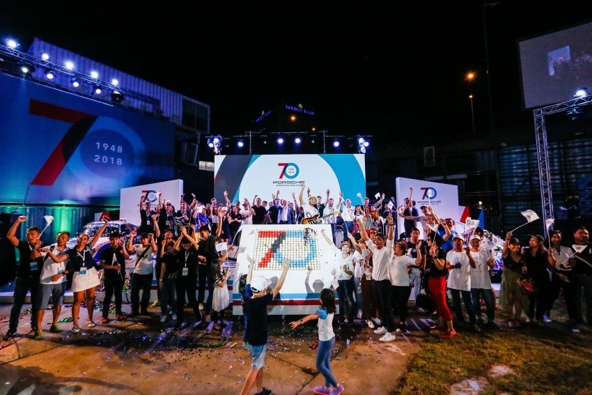 Porsche Sportscar Together Day Bangkok 2018 – celebrating 70 years of turning dreams into reality Image #843147