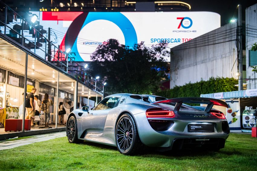 Porsche Sportscar Together Day Bangkok 2018 – celebrating 70 years of turning dreams into reality Image #843162