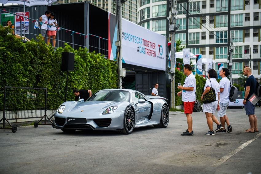 Porsche Sportscar Together Day Bangkok 2018 – celebrating 70 years of turning dreams into reality Image #843105