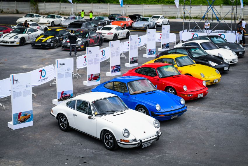 Porsche Sportscar Together Day Bangkok 2018 – celebrating 70 years of turning dreams into reality Image #843111
