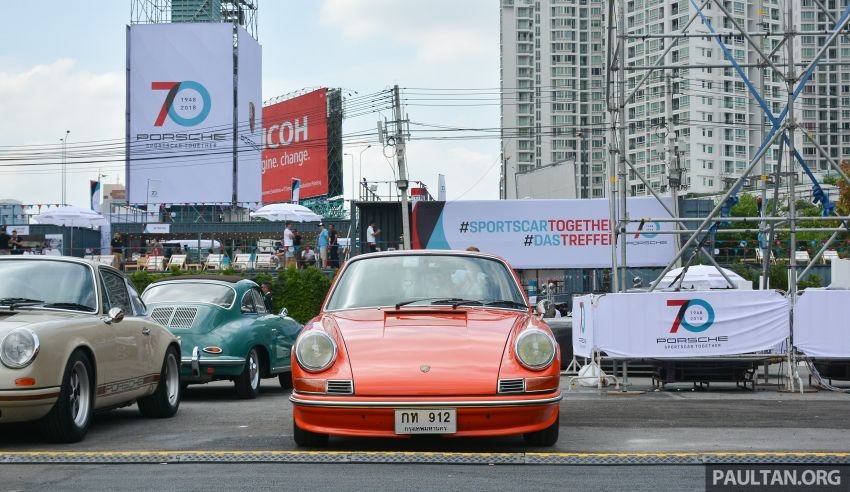 Porsche Sportscar Together Day Bangkok 2018 – celebrating 70 years of turning dreams into reality Image #843215