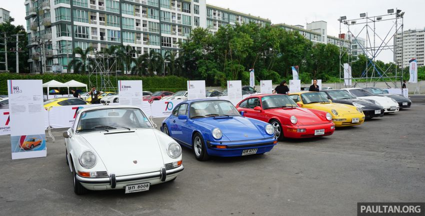 Porsche Sportscar Together Day Bangkok 2018 – celebrating 70 years of turning dreams into reality Image #843216