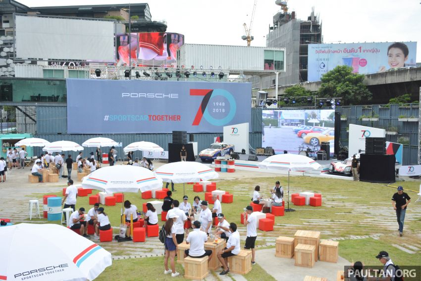 Porsche Sportscar Together Day Bangkok 2018 – celebrating 70 years of turning dreams into reality Image #843184