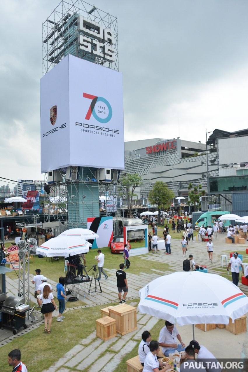Porsche Sportscar Together Day Bangkok 2018 – celebrating 70 years of turning dreams into reality Image #843185