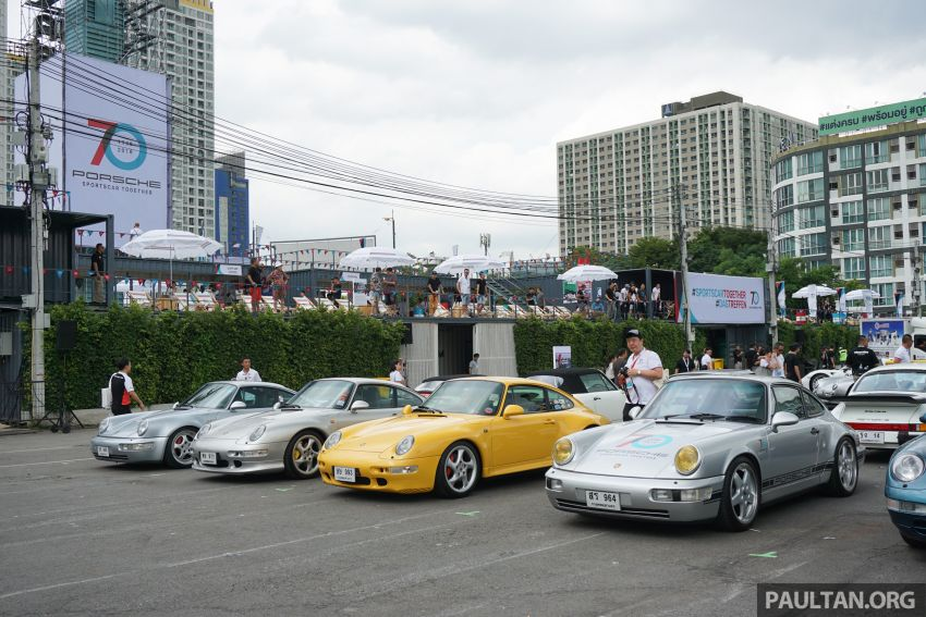 Porsche Sportscar Together Day Bangkok 2018 – celebrating 70 years of turning dreams into reality Image #843239