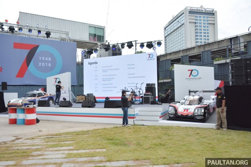 Porsche Sportscar Together Day Bangkok 2018 – celebrating 70 years of turning dreams into reality Image #843188