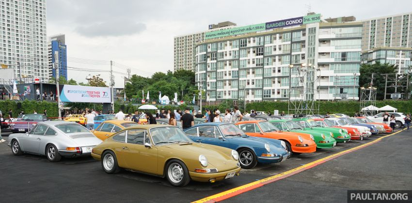 Porsche Sportscar Together Day Bangkok 2018 – celebrating 70 years of turning dreams into reality Image #843279