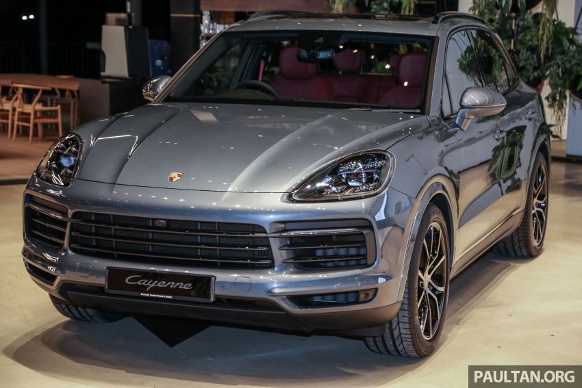 E3 Porsche Cayenne launched in Malaysia – base and S variants available, prices start from RM745,000 Image #836882