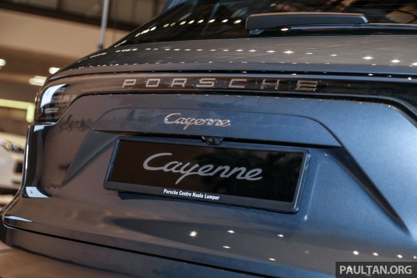 E3 Porsche Cayenne launched in Malaysia – base and S variants available, prices start from RM745,000 Image #836921