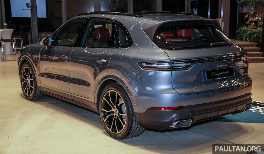 E3 Porsche Cayenne launched in Malaysia – base and S variants available, prices start from RM745,000 Image #836884