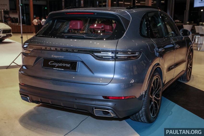 E3 Porsche Cayenne launched in Malaysia – base and S variants available, prices start from RM745,000 Image #836886