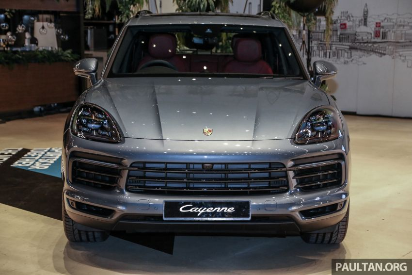 E3 Porsche Cayenne launched in Malaysia – base and S variants available, prices start from RM745,000 Image #836887