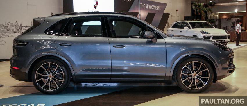 Porsche Cayenne generasi ketiga dilancar di Malaysia – dua varian ditawarkan, harga bermula dari RM745k Image #836541