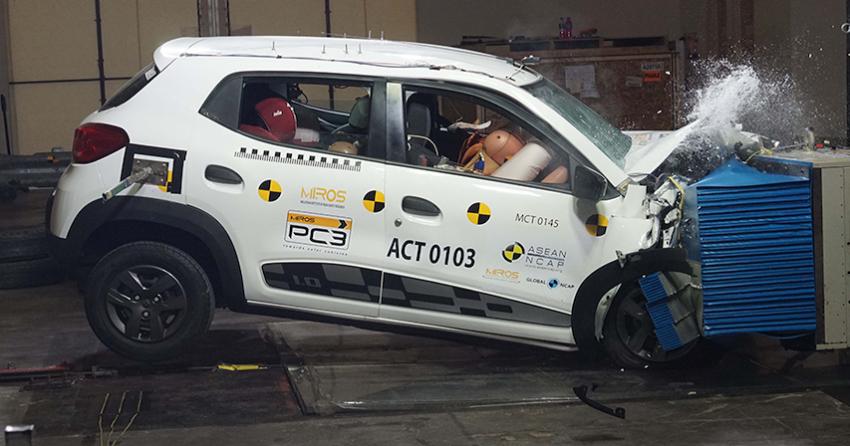 MG3 gets 2 stars in ASEAN NCAP, Renault Kwid 0-star Image #837763