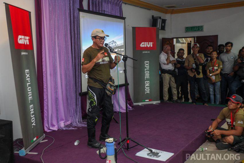 GIVI Rimba Raid 2018 tarik penyertaan dalam dan luar negara, lumba hutan motosikal dual purpose 128 km Image #837495