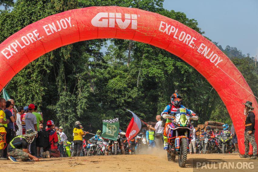 GIVI Rimba Raid 2018 tarik penyertaan dalam dan luar negara, lumba hutan motosikal dual purpose 128 km Image #837509