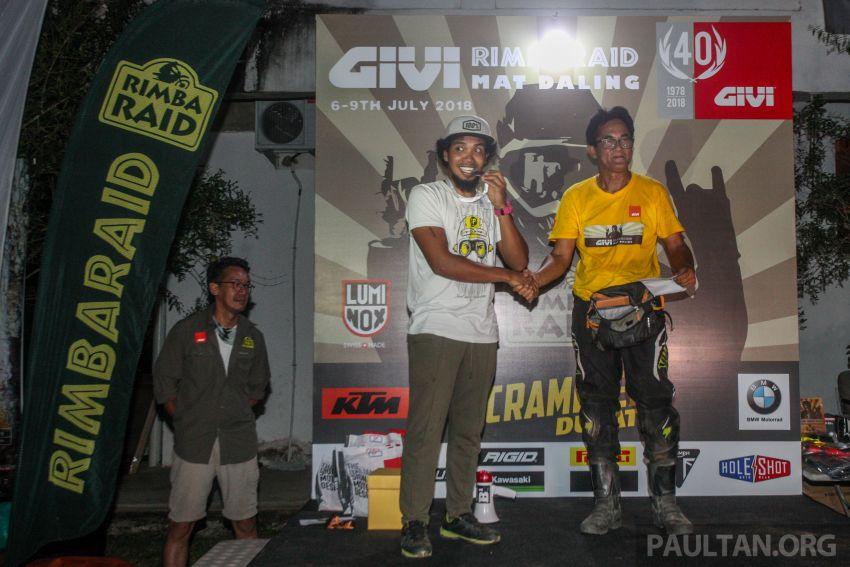 GIVI Rimba Raid 2018 tarik penyertaan dalam dan luar negara, lumba hutan motosikal dual purpose 128 km Image #837524