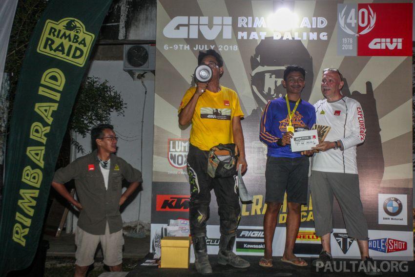 GIVI Rimba Raid 2018 tarik penyertaan dalam dan luar negara, lumba hutan motosikal dual purpose 128 km Image #837525