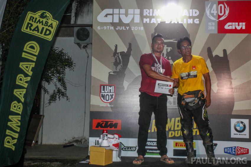 GIVI Rimba Raid 2018 tarik penyertaan dalam dan luar negara, lumba hutan motosikal dual purpose 128 km Image #837527