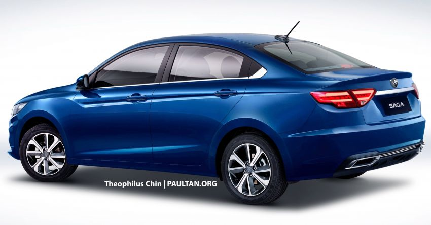 Proton Saga – next gen rendered, based on BMA? Image #844952
