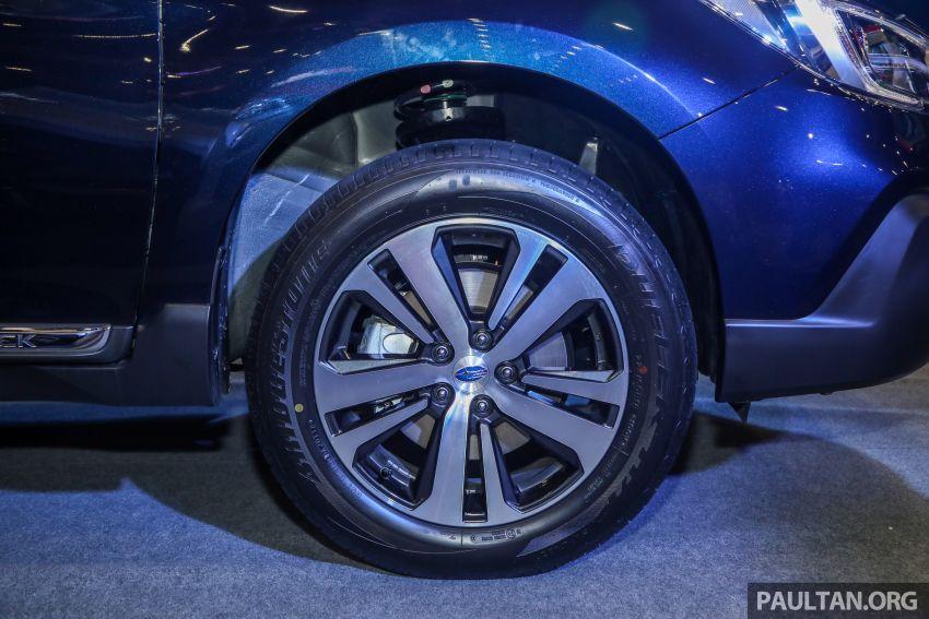 Subaru Outback 2.5i-S 2018 kini dilancarkan di Malaysia – ciri baharu EyeSight, dari RM246,188.40 Image #843593