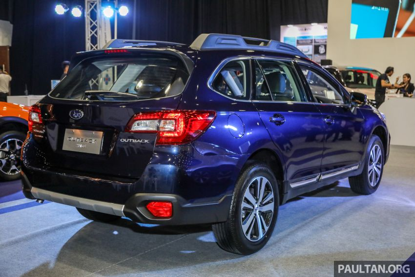 2018 Subaru Outback launched in Malaysia – EyeSight system debuts, one variant priced at RM246,188 Image #843569