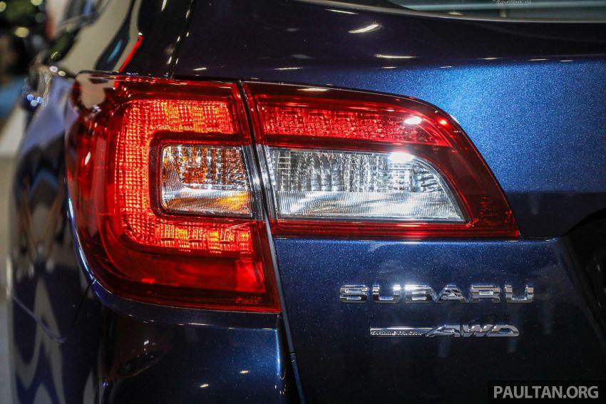 Subaru Outback 2.5i-S 2018 kini dilancarkan di Malaysia – ciri baharu EyeSight, dari RM246,188.40 Image #843606
