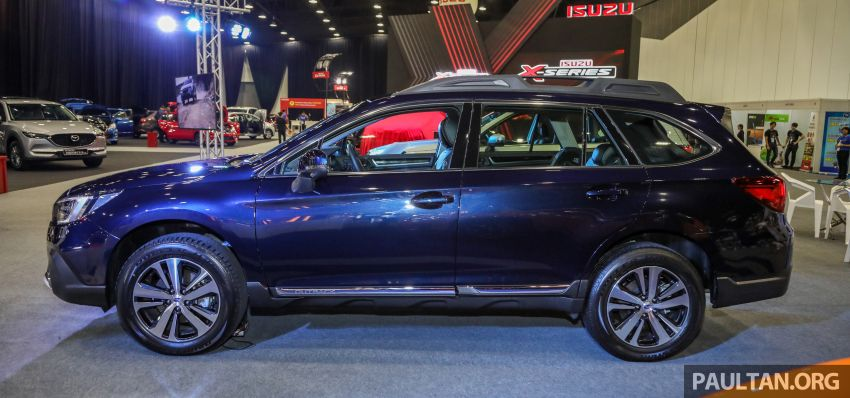 2018 Subaru Outback launched in Malaysia – EyeSight system debuts, one variant priced at RM246,188 Image #843571