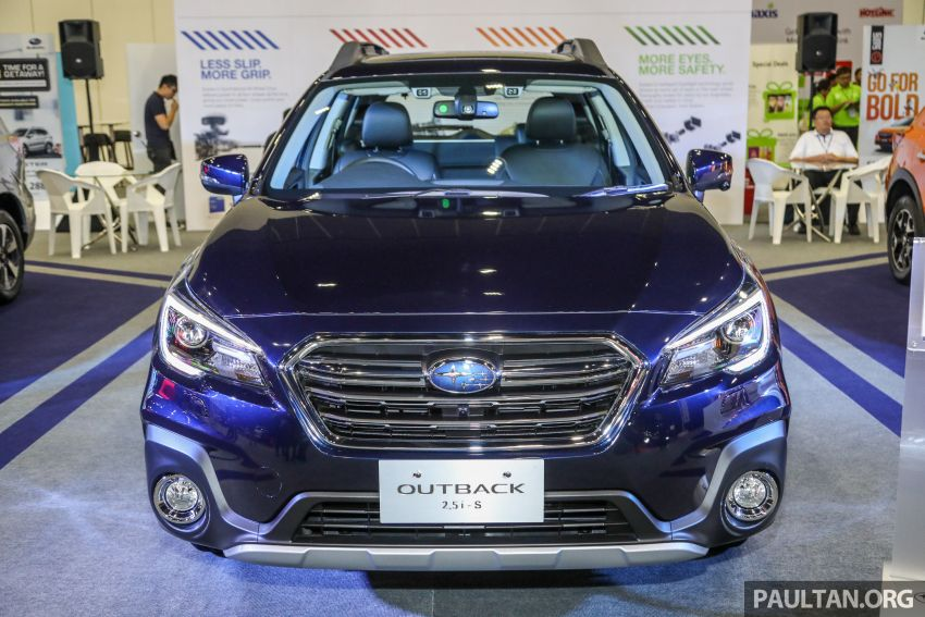 2018 Subaru Outback launched in Malaysia – EyeSight system debuts, one variant priced at RM246,188 Image #843573