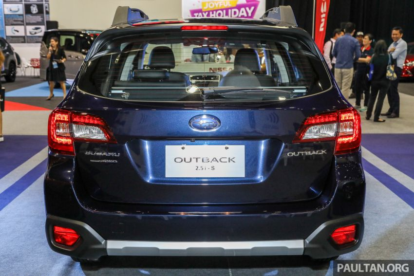 2018 Subaru Outback launched in Malaysia – EyeSight system debuts, one variant priced at RM246,188 Image #843576