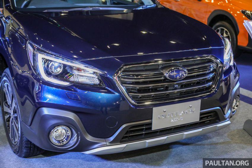 Subaru Outback 2.5i-S 2018 kini dilancarkan di Malaysia – ciri baharu EyeSight, dari RM246,188.40 Image #843563