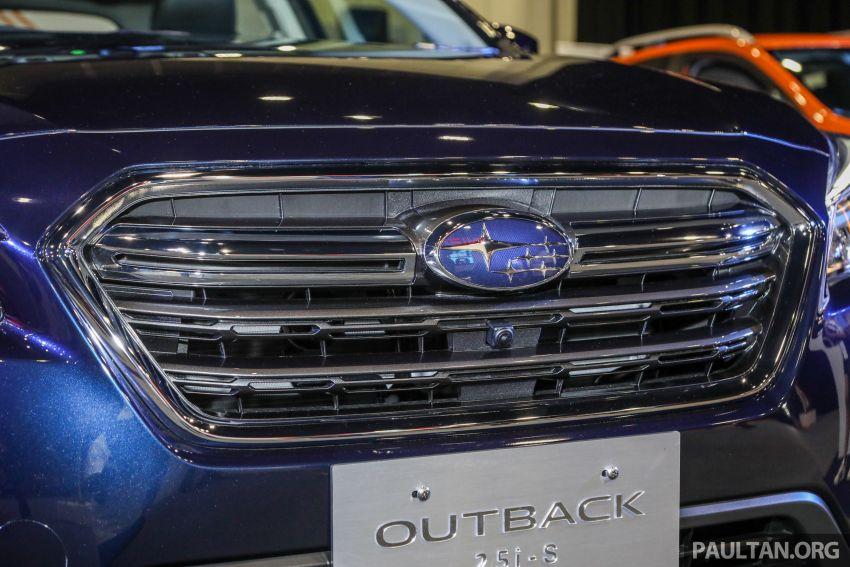 Subaru Outback 2.5i-S 2018 kini dilancarkan di Malaysia – ciri baharu EyeSight, dari RM246,188.40 Image #843566
