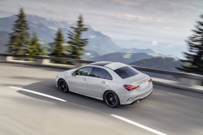 V177 Mercedes-Benz A-Class Sedan finally unveiled Image #842904