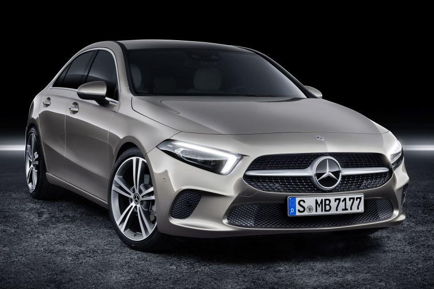 V177 Mercedes-Benz A-Class Sedan finally unveiled Image #842883