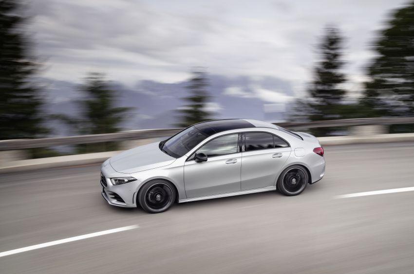 V177 Mercedes-Benz A-Class Sedan finally unveiled Image #842905