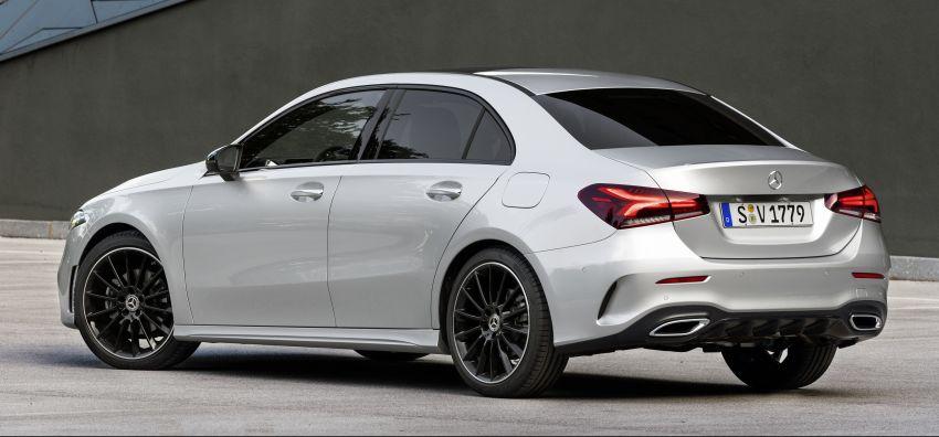 V177 Mercedes-Benz A-Class Sedan finally unveiled Image #842929