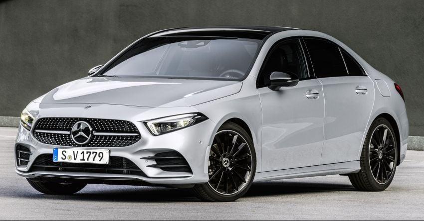 V177 Mercedes-Benz A-Class Sedan finally unveiled Image #842931