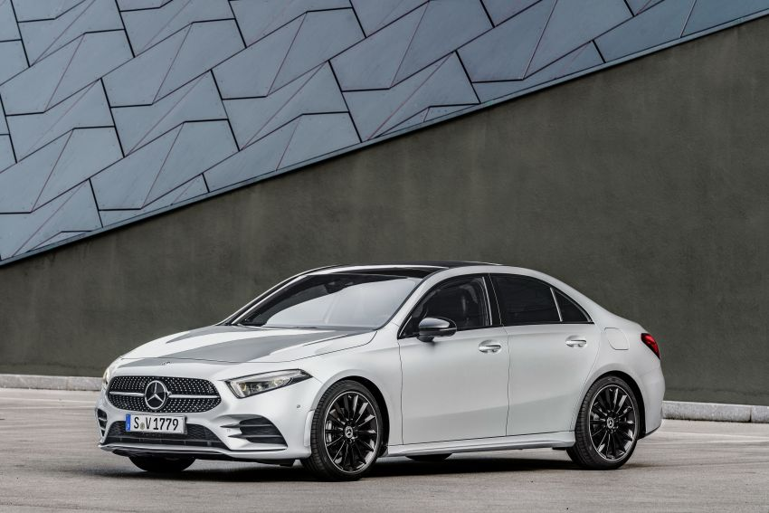 V177 Mercedes-Benz A-Class Sedan finally unveiled Image #842932