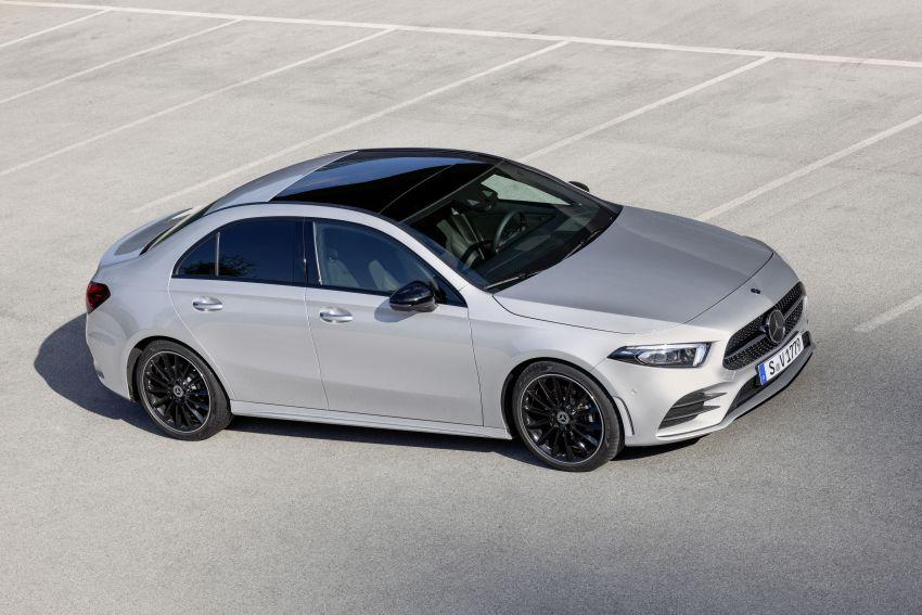 V177 Mercedes-Benz A-Class Sedan finally unveiled Image #842940