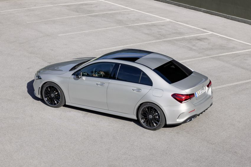 V177 Mercedes-Benz A-Class Sedan finally unveiled Image #842941