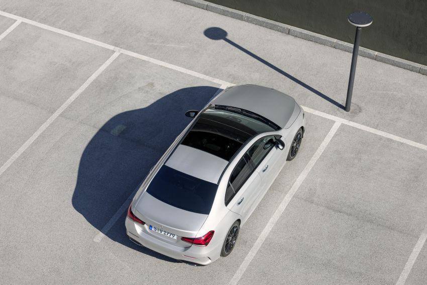 V177 Mercedes-Benz A-Class Sedan finally unveiled Image #842943